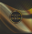 abstract geometric graphic design halftone vector image vector image