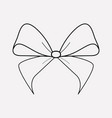 bowknot icon line element of vector image