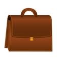 briefcase portfolio isolated icon vector image vector image