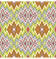 color abstract retro zigzag background vector image vector image