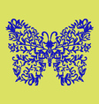elegant decorative butterfly vector image