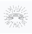 It is summer time Inspirational vector image vector image