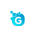 letter g bubble logo template or icon vector image vector image