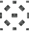 Mediaplayer pattern vector image vector image
