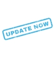 Update Now Rubber Stamp vector image vector image