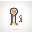 Pistons flat color icon vector image