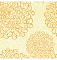 Dahlia seamless pattern vector image vector image