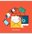 Email Makreting Concept vector image vector image