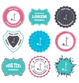 Golf ball and hole sign icon Sport symbol vector image vector image