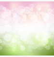 green and pink background vector image vector image
