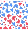 Happy Valentine day romantic seamless pattern vector image