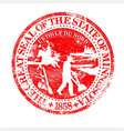 minnesota seal rubber stamp vector image vector image
