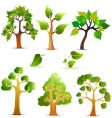 tree design vector image vector image
