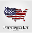 4th of july happy american independence day vector image vector image