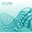 Abstract background with aqua wave vector image
