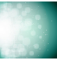 bokeh rounded square background vector image vector image