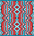 ethnic tribal bright seamless pattern aztec style vector image vector image