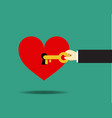 love psychology success in love vector image vector image