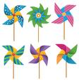 Pinwheels vector image