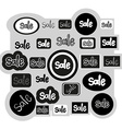Sign sale icons set vector image vector image