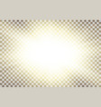 Sun rays starburst bright effect isolated on