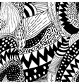 black and white sketch vector image vector image
