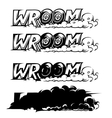comics icon vector image vector image