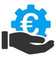 Euro Development Service Icon vector image vector image