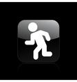 exit security icon vector image vector image