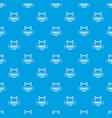 fence police pattern seamless blue vector image vector image