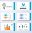 template for presentation slides vector image vector image