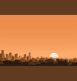urban background banner vector image vector image
