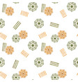 beautiful watercolor seamless pattern vector image
