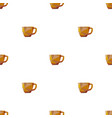 coffee cup triangle pattern backgrounds vector image