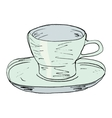 cup vector image vector image