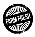 Farm fresh stamp vector image vector image