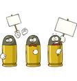 striking ammunition vector image vector image