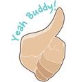 Yeah Buddy vector image