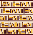 abstract bookshelf- vector image