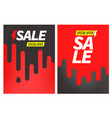 advertising banners set special offer vector image