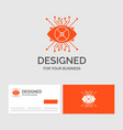 business logo template for ar augmentation cyber vector image vector image