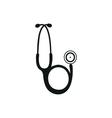 Medical endoscope icon vector image