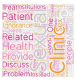 Perils of Ignorance about Sexual Health text vector image vector image