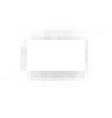 pixel rectangular white plane with gray shadow vector image vector image