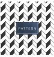 retro geometric 3d pattern background image vector image