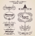 Thai vintage design elements and frames vector image vector image