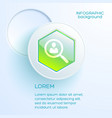 web business concept vector image vector image