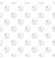 winks smile pattern seamless vector image