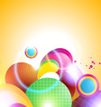 abstract beautiful background vector image vector image