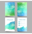 Document template low poly design vector image vector image